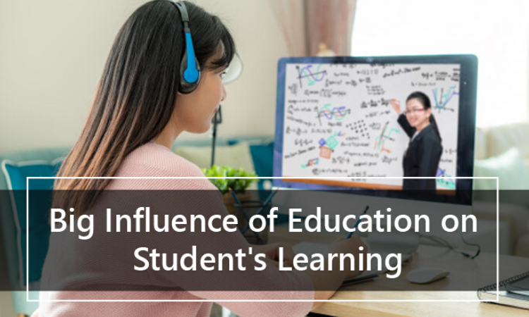The Big Influence of Online Education on Student's Learning